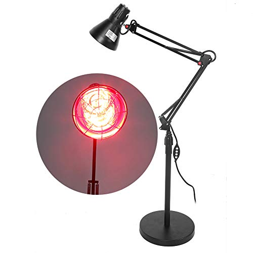 Great Deal! ZJchao Red Light Therapy Lamp, Heat Lamp Set Body Muscle Joint Pain Relief Therapy Light...
