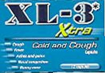 Xl-3 Cold Medicine-Extra 12-Count (6-Pack)
