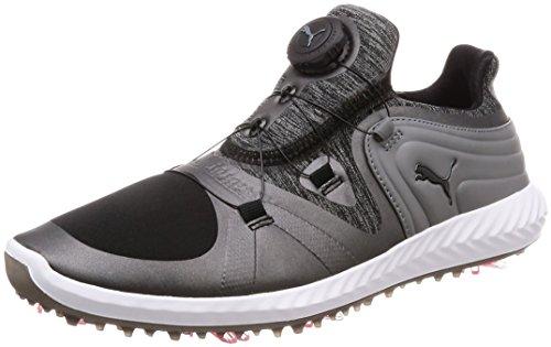 Puma Ignite Blaze Sport DISC Damen Golfschuhe Black-Steel Gray 5