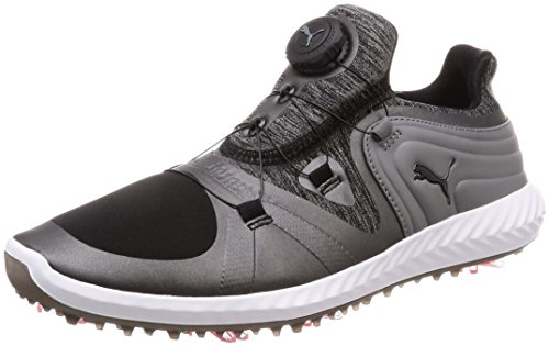 Puma Ignite Blaze Sport DISC Damen Golfschuhe Black-Steel Gray 5