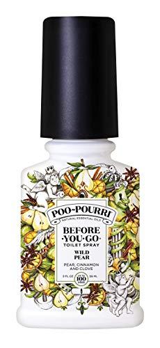 Poo-Pourri Before-You- go Toilet Spray, 2 Fl Oz (Pack of 1), Wild Pear Scent
