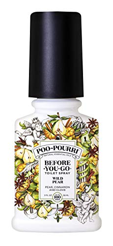 Poo-Pourri Before-You-go Toilet Spray, Wild Pear Scent, 2 Fl Oz
