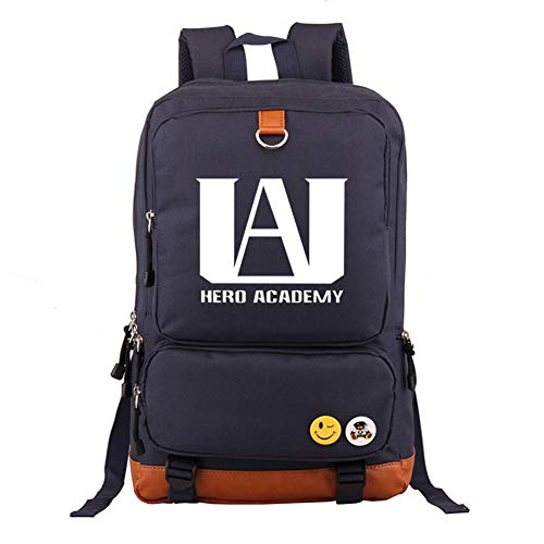 Anime My Hero Academia Backpack Middle Student School Bag Laptop Backpack for Women Men