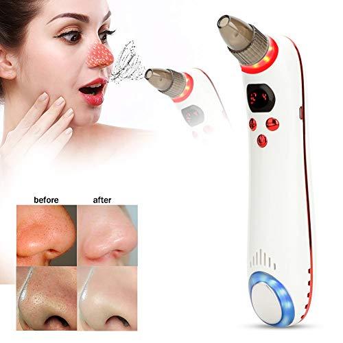 Mee-eterverwijderaar machine huidafzuiging apparaat hete en koude compressor vacuüm gezicht acne poriënreiniger gereedschap rood
