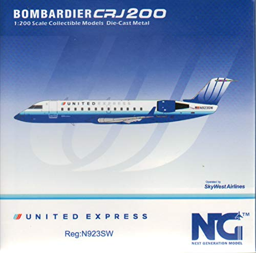 NG Model NGM52021 1:200 United Express CRJ-200LR Reg #N923SW (pre-Painted/pre-Built)