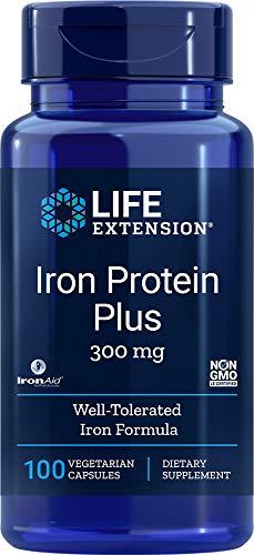 Life Extension, Eisen-Protein Plus, 300 mg, 100 Kapseln