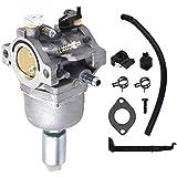 WATPET Filtros de Aceite de reemplazo automotriz y Acceso Kit de carburador Carb Fits para Briggs & Stratton 17.5 I/C OHV Engin Lawn Cortacésped Tractor Tune-Up Kit para Motor Diesel y Gasolina.
