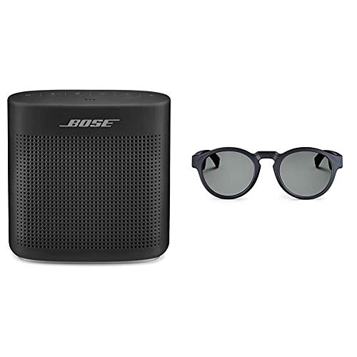 Bose SoundLink Color II Diffusore Bluetooth 4.2, Nero + Occhiali da Sole con Audio Frames, Rondo