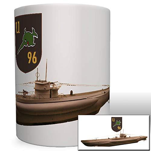 UBoot 96 Marine WK 2 Unterseeboot Schwertfisch Sägefisch Wappen Tasse #3608