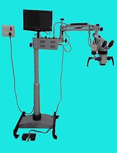 MG Scientific Dental Microscope Five Step LCD, Camera, Motorized 01