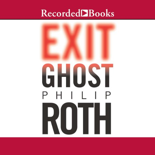 Exit Ghost audiobook cover art