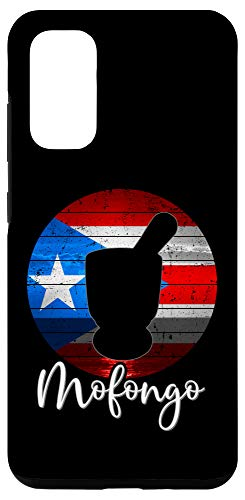 Galaxy S20 Funny Puerto Rican Food Mofongo Pilon Puerto Rico Flag Gift Case