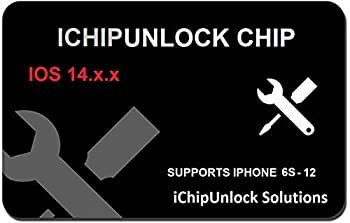 ICHIPUNLOCK CHIP IOS 13.x.x Compatible with iPhone 6S to XS Unlock AT&T Verizon Sprint T-Mobile Xfinity Metro PCS Boost Cricket to GSM Networks DO NOT Support CDMA SIM Cards