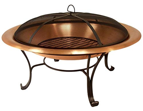 N / A Large Fire Pit, Black Cast Iron Brazier Heater, Multifunctional Camping Bowl BBQ, For Indoor Outdoor Garden Patio Grill Wood Charcoal