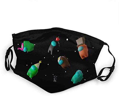 fivekim Entre nosotros la creatividad interesante pañuelo para niños (2-6 años) pasamontañas decoraciones de Halloween, para uso diario