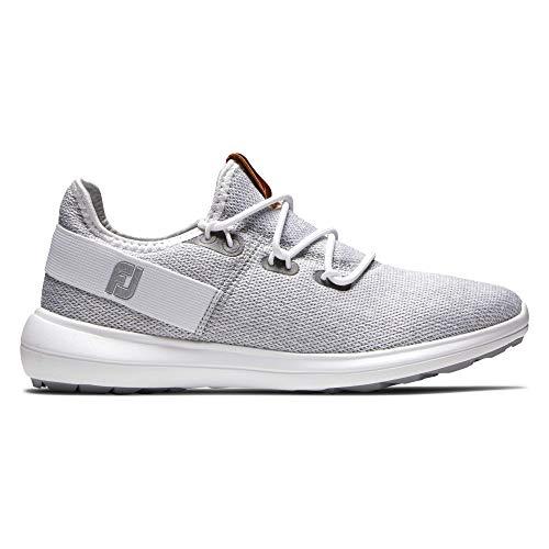 Footjoy Flex, Zapatos de Golf Mujer, Gris Claro, 39 EU