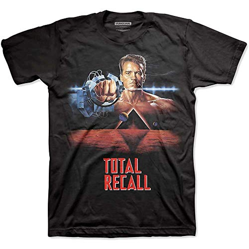 T-Shirt # Xl Black Unisex # Total Recall