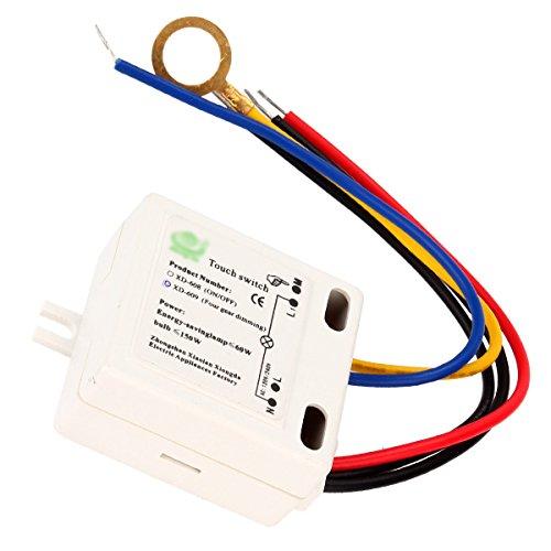 XD-609 4-Modus-Ein/Aus-Berührungsschalter-Sensor für 220 V-Wolframlampe