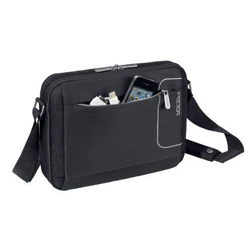 Pedea - Bolsa de Bandolera para Tablet de 10.1', Negro
