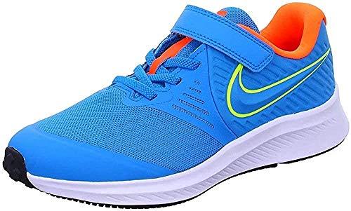 Nike Star Runner 2 (PSV), Trail Running Shoe Unisex Adulto, Azul, 33 EU