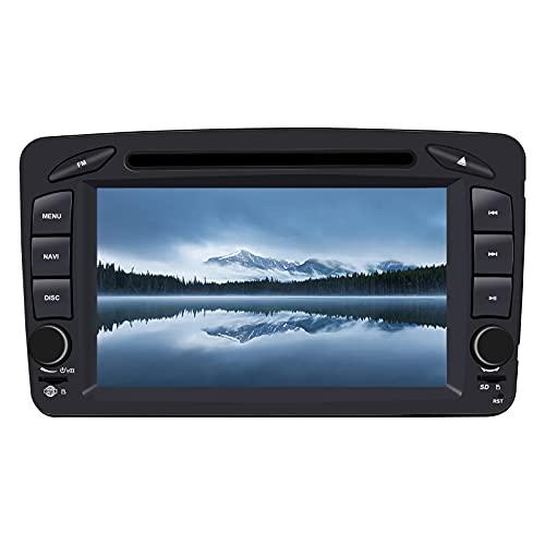 N / A BOOYES para Mercedes Benz A-W168 C-W203 Clase G W463 Viano Vito W639 7' Reproductor de DVD para automóvil Radio Sistema estéreo GPS Reproductor Multimedia para automóvil