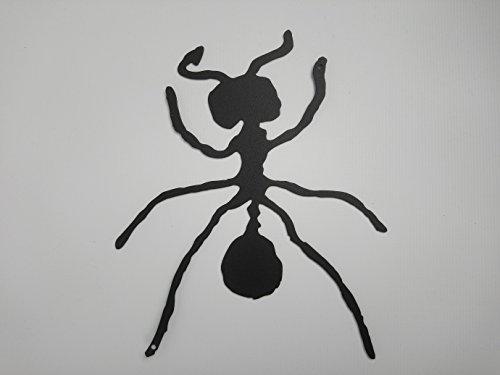 ARTESANÍA ROCA Hormiga escladora de forja, para Colgar en la Pared. Made in Spain. Muy Decorativo 17cm x 25cm