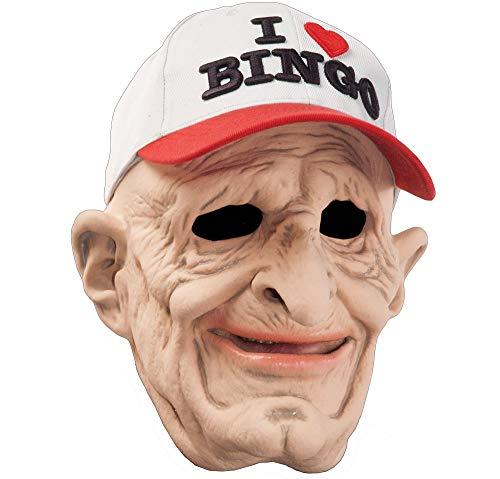 Zagone B9 Mask, Old Man, Bingo Baseball Cap