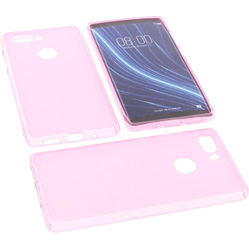 foto-kontor Tasche für Archos Diamond Omega Gummi TPU Schutz Handytasche pink
