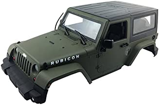 LNL New Rc Crawler Jeep Body Shell 1/10 Army green for Sale