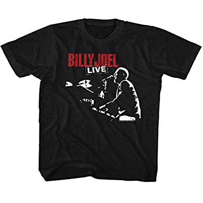 American Classics Billy Joel Boys' 81 Tour Childrens T-Shirt Black