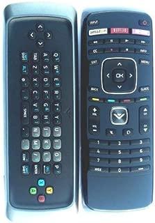 Vizio Smart TV keyboard remote for E500i-A0 E550i-A0 e550ao e500-ao E502AR E422VL E472VL E552VL M370SR M420SR M420SV (Certified Refurbished)