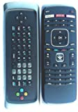 Vizio Smart TV keyboard remote for E500i-A0 E550i-A0 e550ao e500-ao E502AR E422VL E472VL E552VL M370SR M420SR M420SV (Certified Refurbished)