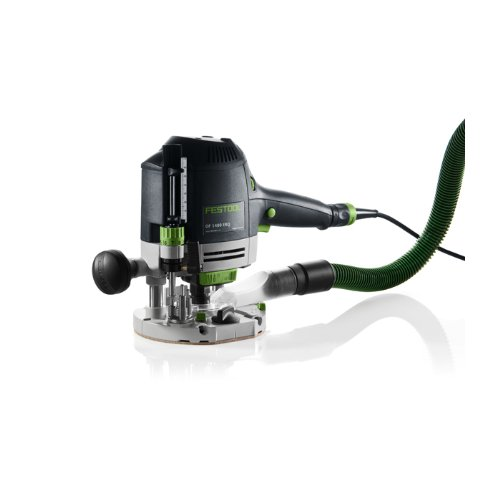 Festool OF 1400 EBQ-Plus Fresatrice a mandrino superiore