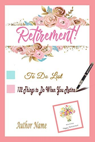 Retirement To do List 132 Things to Do When You Retire Gift for Holiday product image