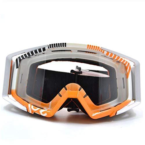 CSXM SkibrilleGafas Moto Retro Schutz Motocross Brille Brille Motorrad Dirt Bike Brille Okular R