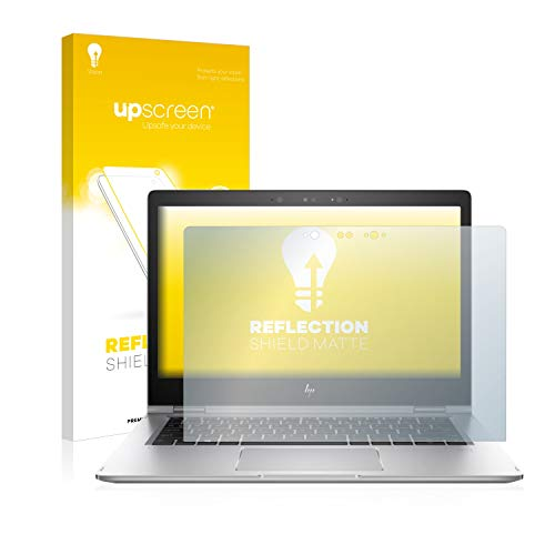 upscreen Entspiegelungs-Schutzfolie kompatibel mit HP EliteBook x360 1030 G2 – Anti-Reflex Bildschirmschutz-Folie Matt