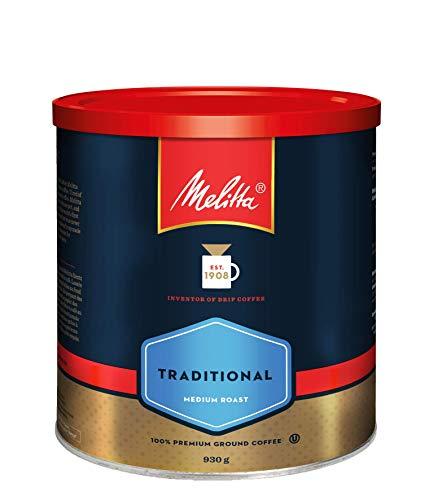 Melitta Traditional Medium Roast Coffee (930g / 32.8oz)