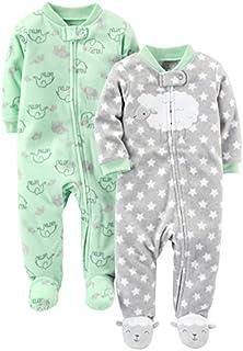 Simple Joys by Carter's Baby 2-Pack Fleece Footed Sleep...