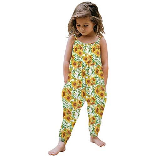 ADMAY Mono infantil de una pieza para niños de 1 a 6 años., B-multicolor-2, M
