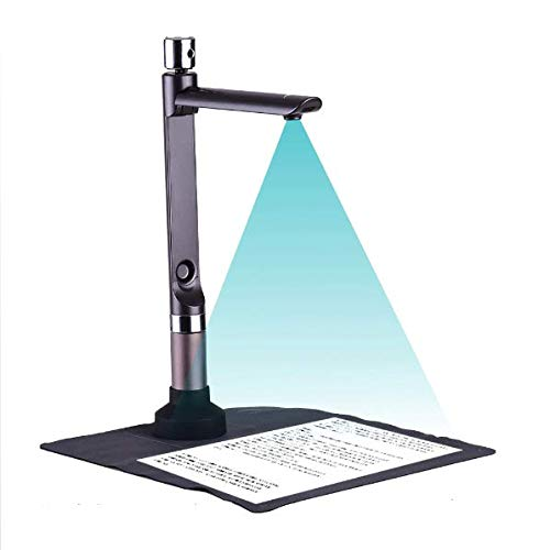 Lowest Price! High Speed Portable HD Scanner Dual Camera Document Camera A4 Capture Size Multi-Langu...
