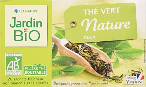 Jardin Bio Thé Vert Nature Doux 40 g