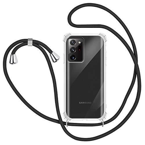 SAMCASE Funda con Cuerda para Samsung Galaxy Note 20 Plus,