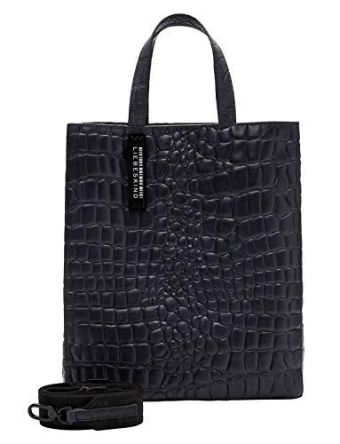 Liebeskind Paper Bag M Croco Handtasche Leder 29 cm