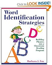 Word Identification Strategies 5th (Fifth) Edition byFox