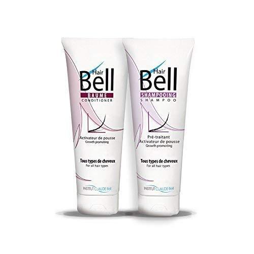 HAIRBELL Tubo - Bálsamo para cabello y champú acelerador de tiro y anticaída del cabello