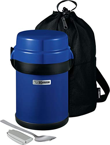 Zojirushi Mr. Bento Stainless Lunch Jar, 41 Oz, Blueberry