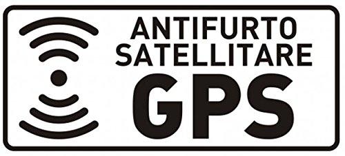2AINTIMO 10 pegatinas satélites de espejo transparentes antirrobo GPS para interior del coche | Pegatinas alarma GPS antirrobo contra los robos | Adhesivo antirrobo antirrobo para coche