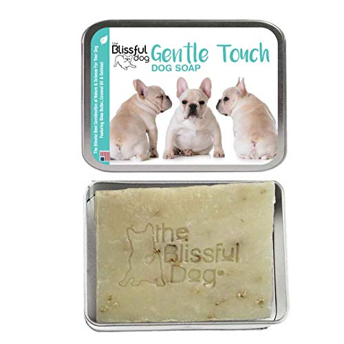 The Blissful Dog Gentle Touch Cream French Bulldog Dog Soap