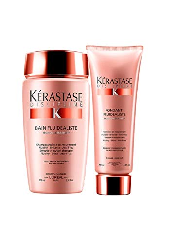 Kit Shampoo e Condicionador Kérastase Discipline - Pequeno
