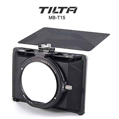 Tilta MB-T15 Tiltaing 4 * 5.65 Mini Matte Box für DSLR mirrorless Style Cameras Tilta Lens Hood Accessories Lens Ring 72mm 82mm 77mm 67mm top Flag